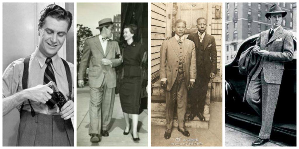 Мужская мода 1940-х