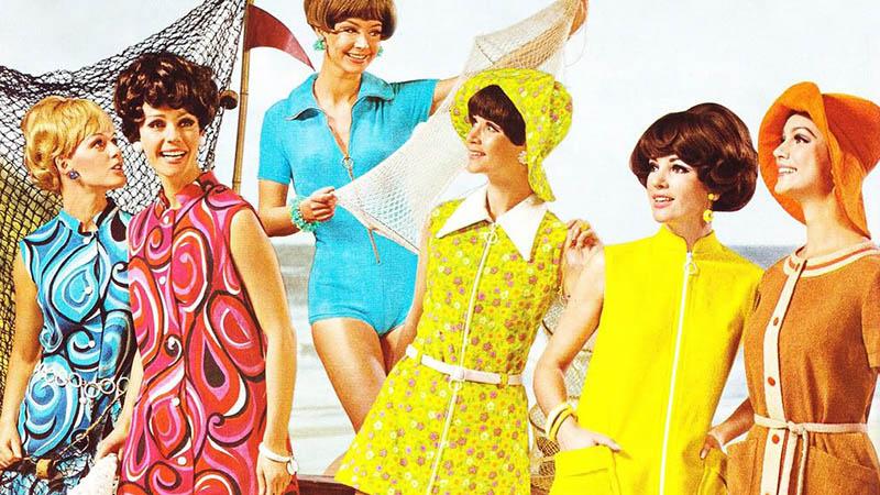 женская мода 1960
