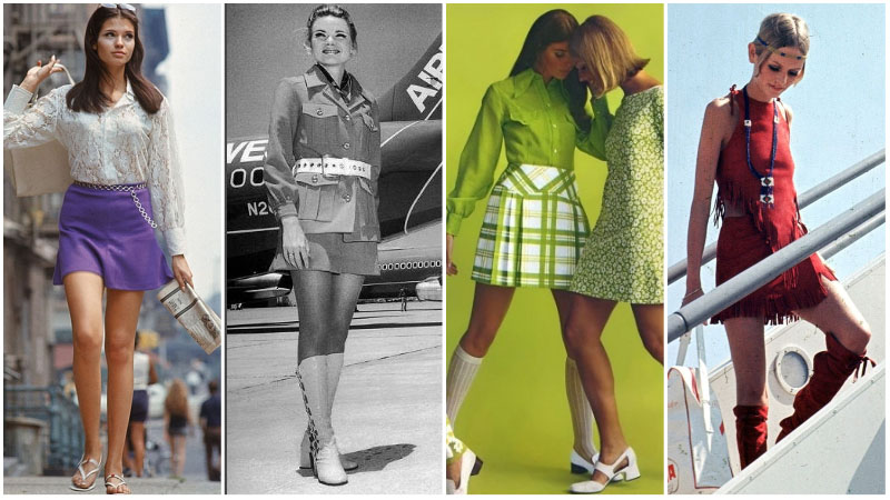 миниюбки 60-х