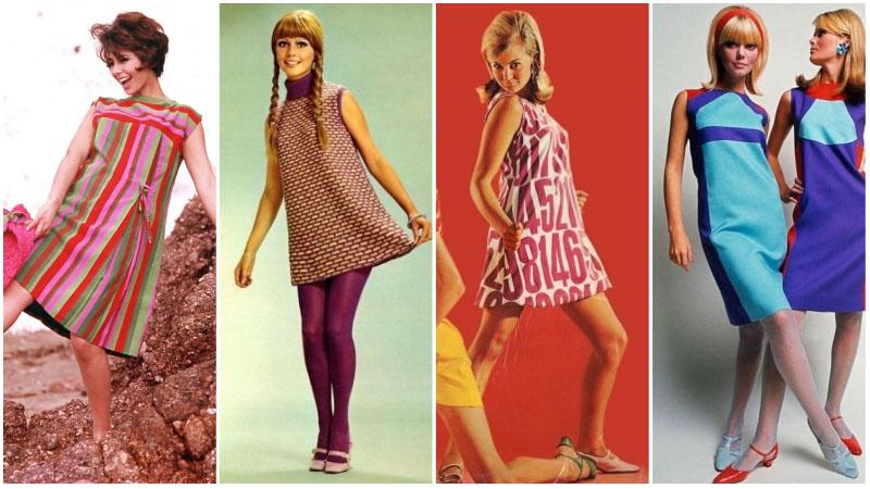 Сменные платья 60-х