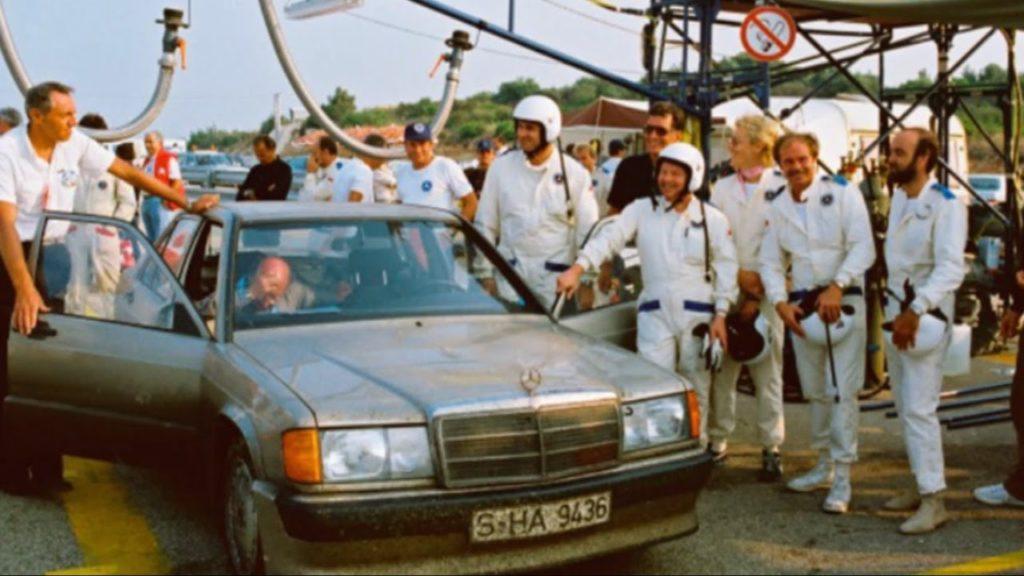 Mercedes 190E 2.3-16 w201 50000 км результат