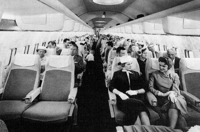 Салон Боинга 707