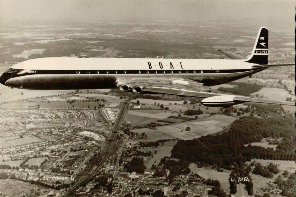 Комета, первый в мире реактивный авиалайнер