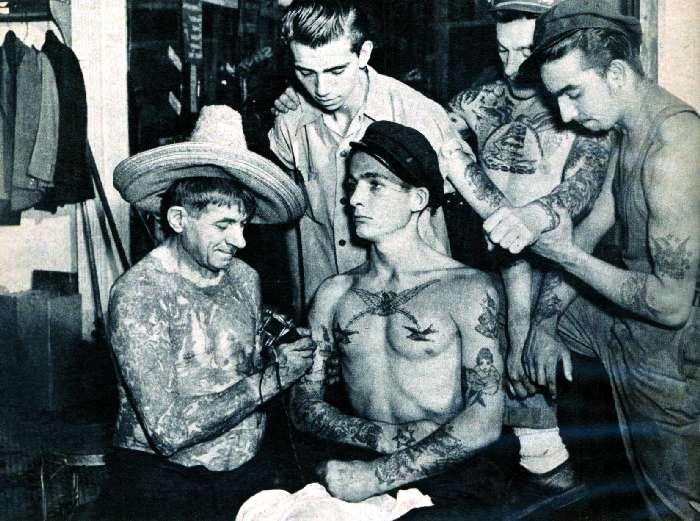 Как выглядели татуировки 1960-х годов в Великобритании?