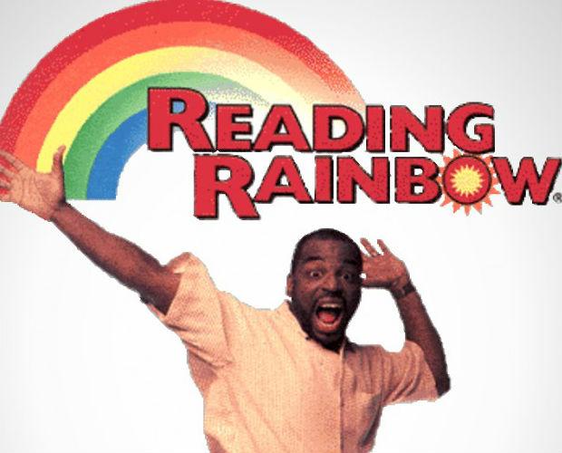 Начало Reading Rainbow.