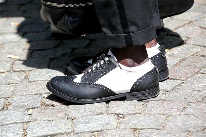 Black & White Saddle Shoes