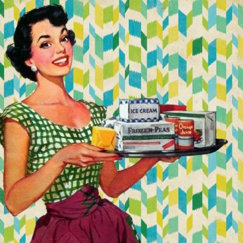 образ домохозяйки США 1950-х