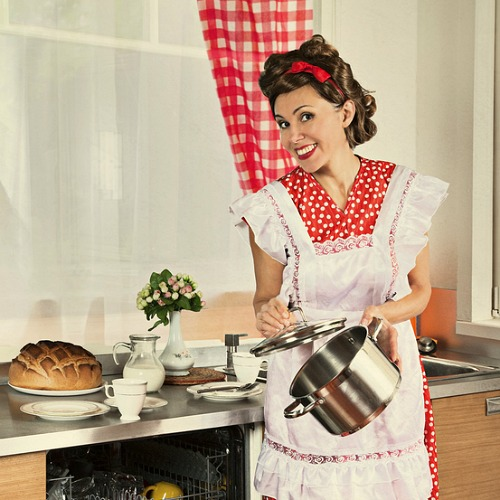Как выглядела домохозяйка в 1950-х годах