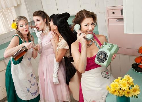 лайфстайл американской домохозяйки 50-х