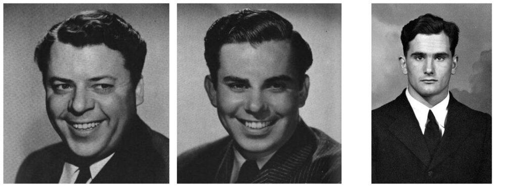 зализанные причёски 40-х годов