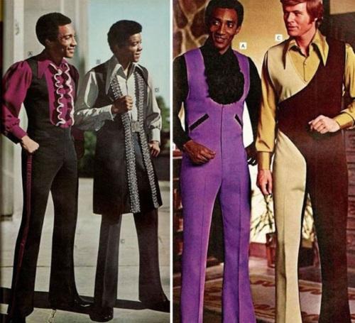 стиль Диско в одежде семидесятых
