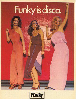 Диско мода конца 70-х