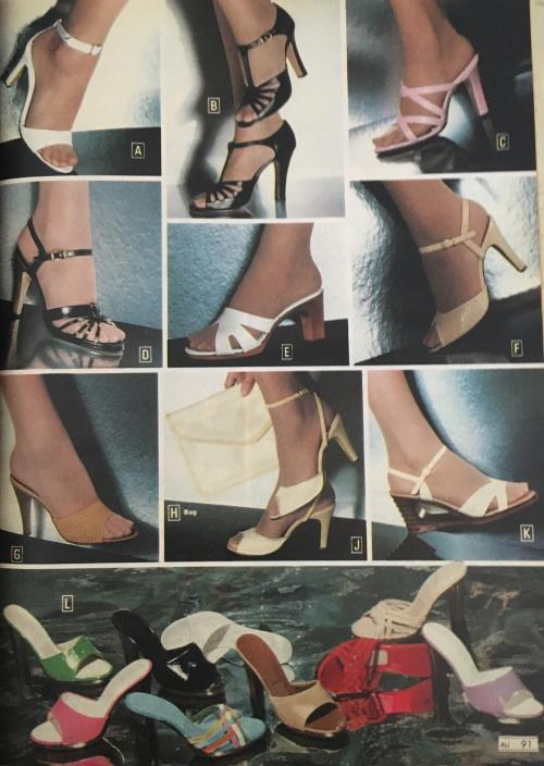 Обувь 70-х годов