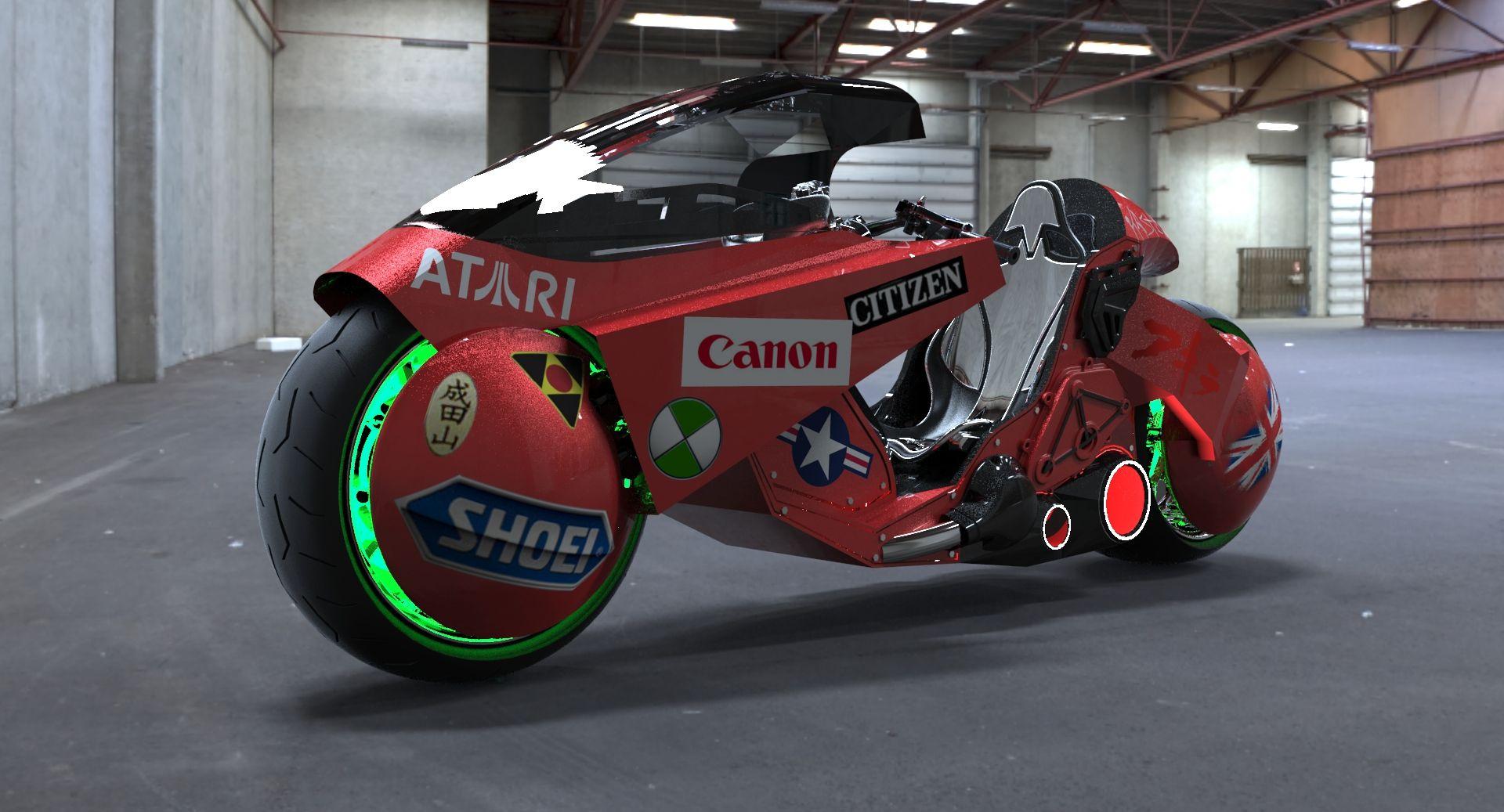 Акира мотоцикл
