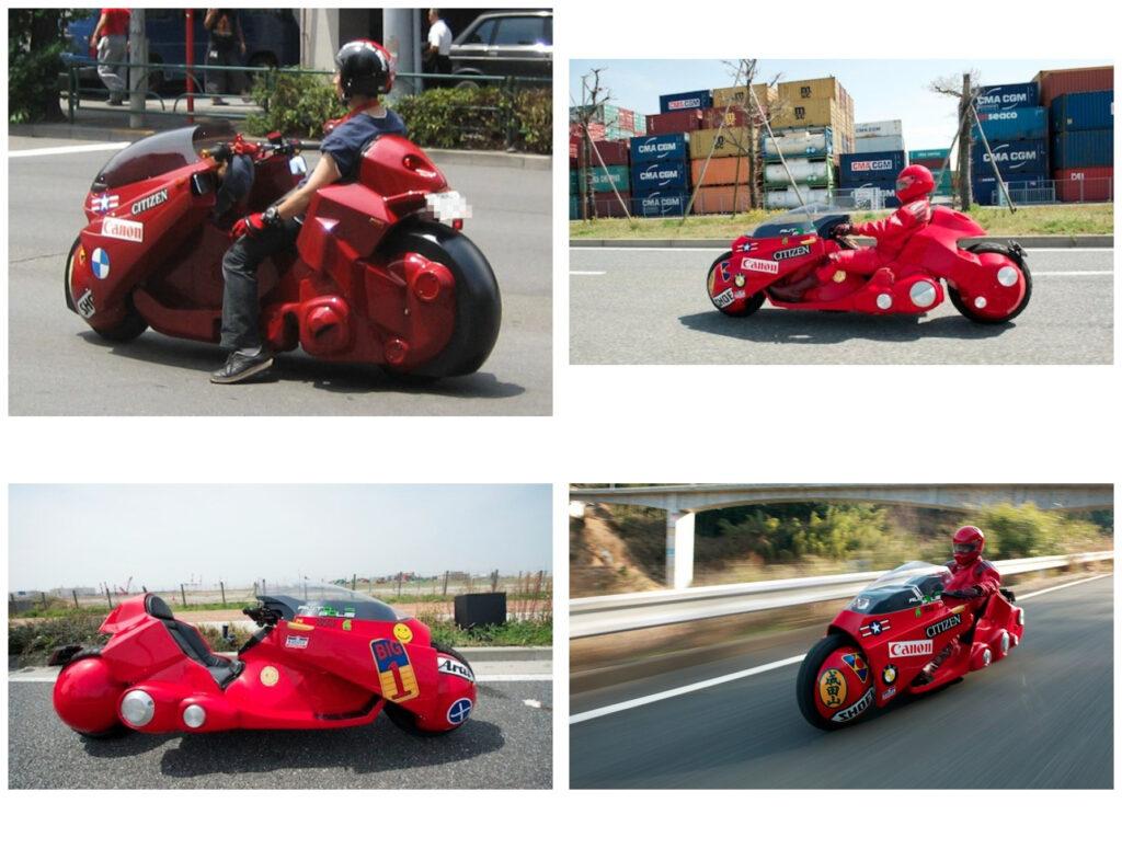 Реконструкция мотоцикла из аниме Акира