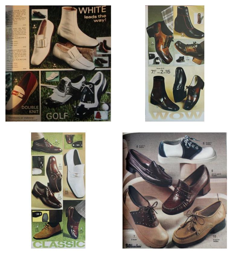 мужская обувь 70-х