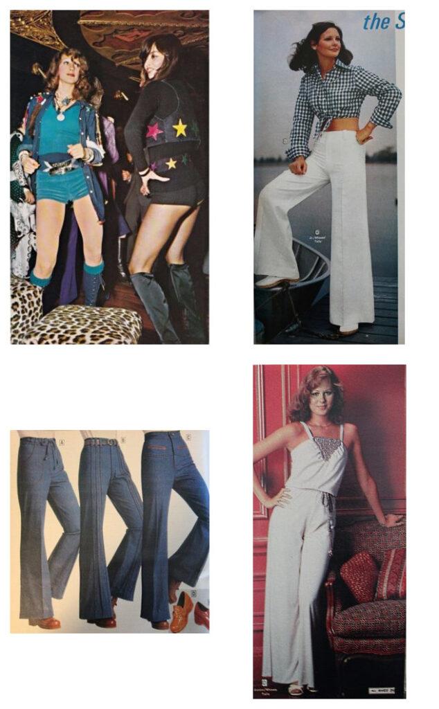 наряды в стиле Диско 70-х