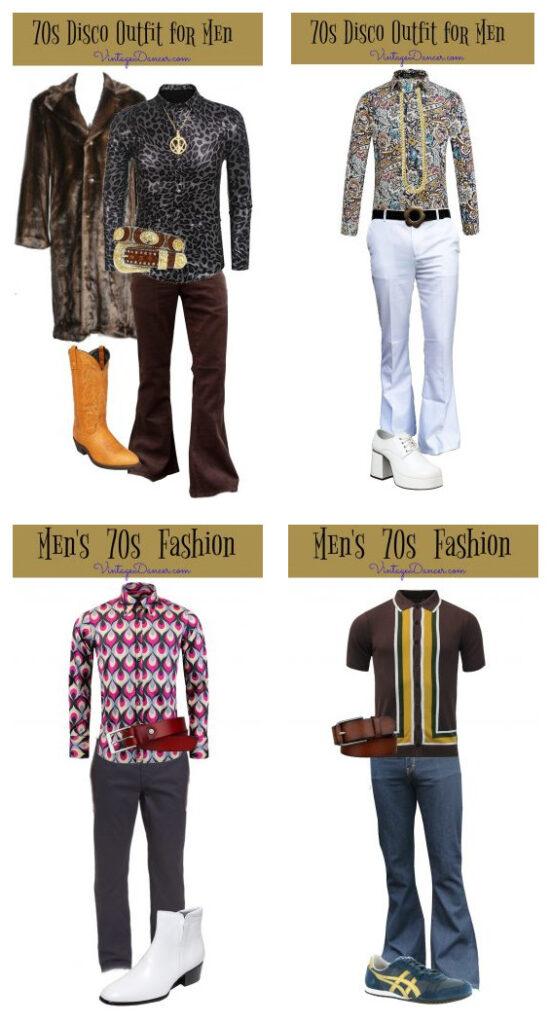 одежда в стиле Диско для мужчин