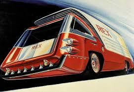 грузовики будущего из 60-х