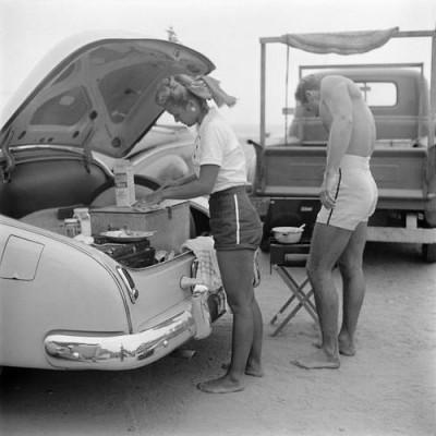 1950-е купальные костюмы