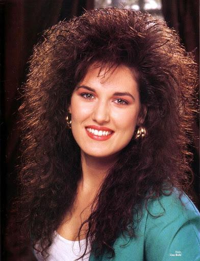 Большие причёски 1980-х