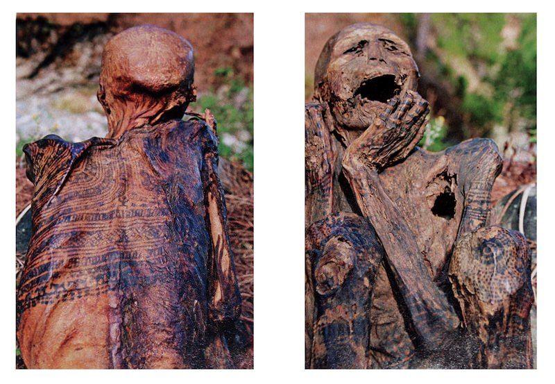 татуированные мумии