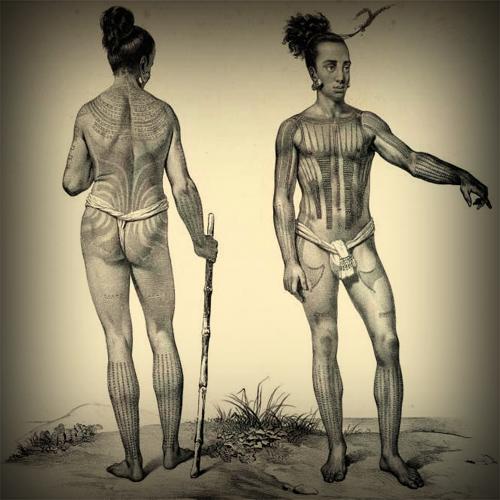 Древние татуировки самоа