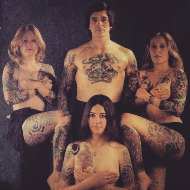 Татуированные люди 1970-е