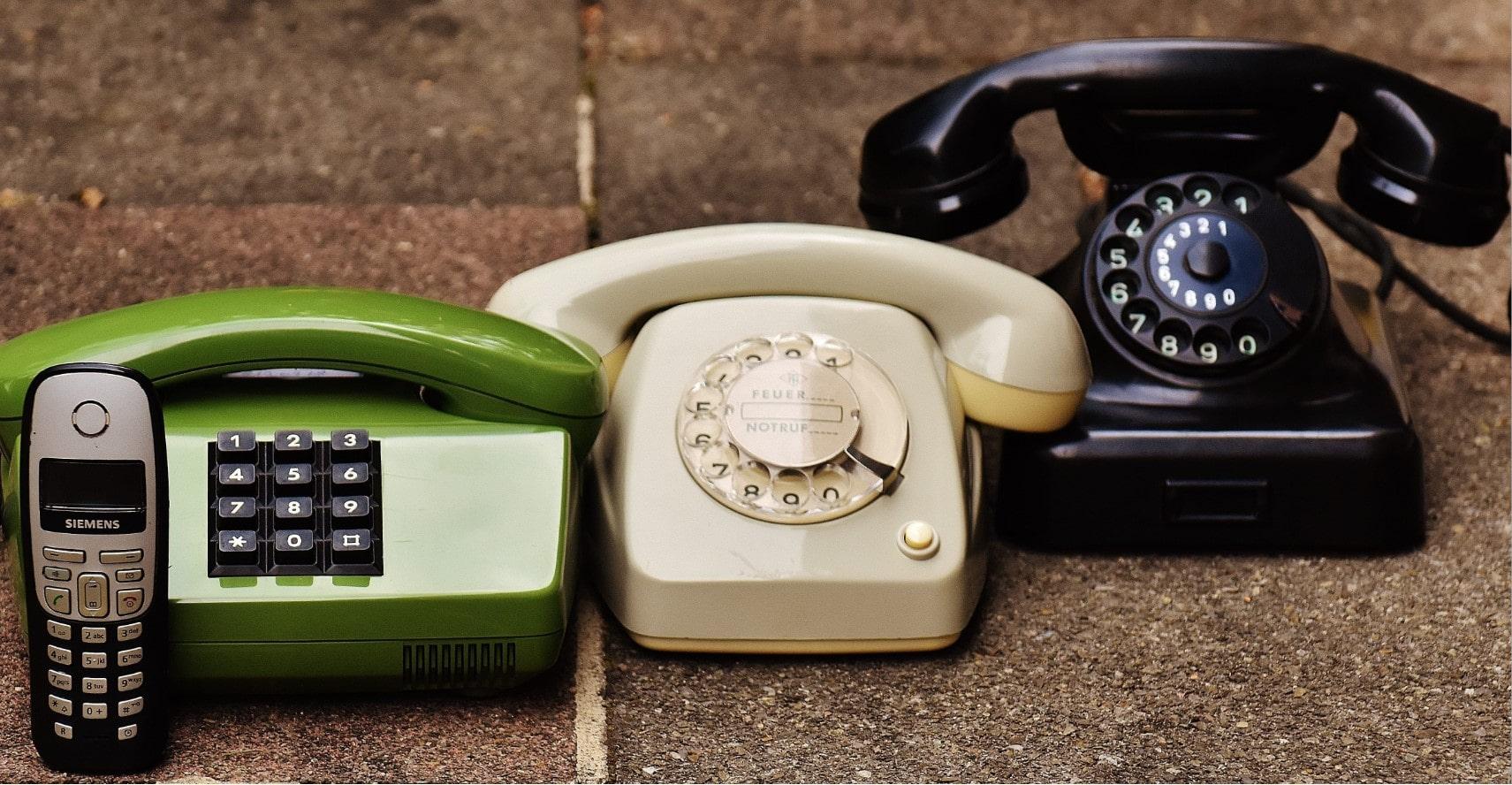 эволюция моб телефонов